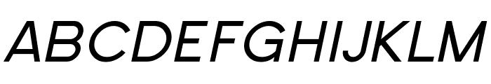 SF New Republic Italic Font UPPERCASE
