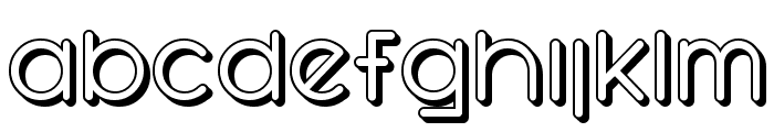 SF Orson Casual Shaded Font LOWERCASE