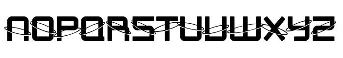 SF Outer Limits Upright Font UPPERCASE