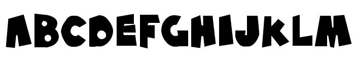 SF Pale Bottom Font UPPERCASE