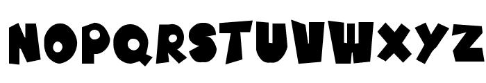SF Pale Bottom Font LOWERCASE