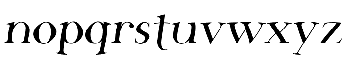 SF Phosphorus Fluoride Font LOWERCASE