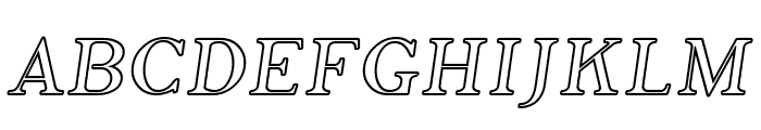 SF Phosphorus Iodide Font UPPERCASE