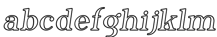 SF Phosphorus Iodide Font LOWERCASE