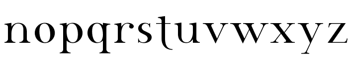 SF Phosphorus Selenide Font LOWERCASE