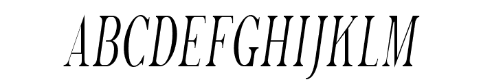 SF Phosphorus Trichloride Font UPPERCASE