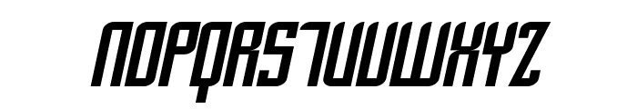 SF Piezolectric Oblique Font UPPERCASE