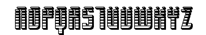 SF Piezolectric SFX Font UPPERCASE