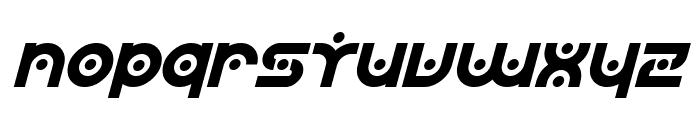 SF Planetary Orbiter Italic Font LOWERCASE
