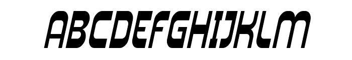 SF Plasmatica Cond Italic Font UPPERCASE