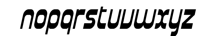 SF Plasmatica Cond Italic Font LOWERCASE