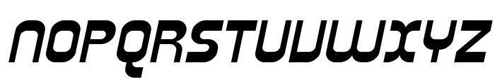 SF Plasmatica Ext Italic Font UPPERCASE