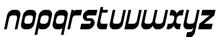 SF Plasmatica Italic Font LOWERCASE
