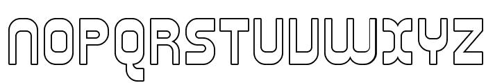 SF Plasmatica Outline Font UPPERCASE