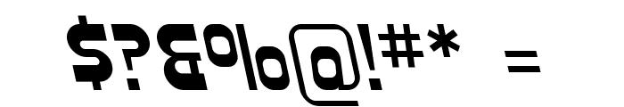 SF Plasmatica Rev Italic Font OTHER CHARS