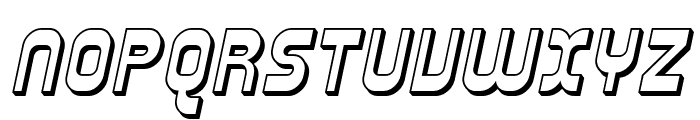 SF Plasmatica Shaded Italic Font UPPERCASE