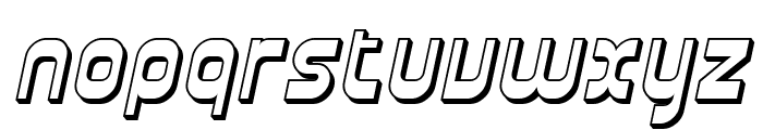 SF Plasmatica Shaded Italic Font LOWERCASE