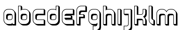 SF Plasmatica Shaded Font LOWERCASE