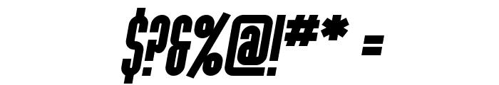 SF Port McKenzie Bold Italic Font OTHER CHARS