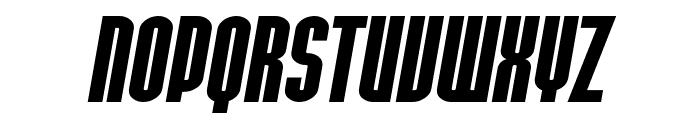 SF Port McKenzie Extended Bold Italic Font UPPERCASE