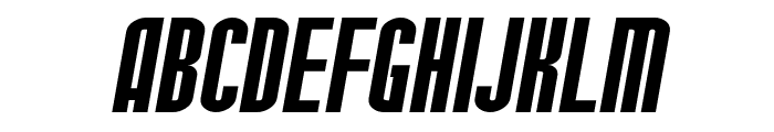 SF Port McKenzie Extended Italic Font UPPERCASE