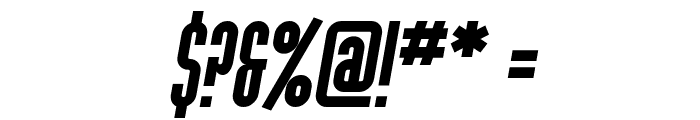 SF Port McKenzie Italic Font OTHER CHARS