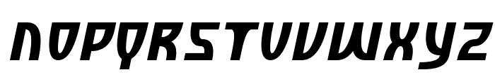 SF Retroesque Oblique Font UPPERCASE