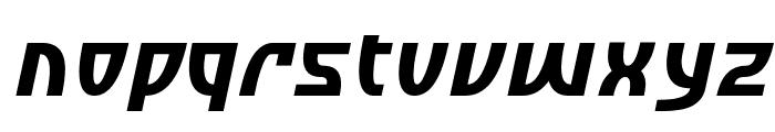 SF Retroesque Oblique Font LOWERCASE