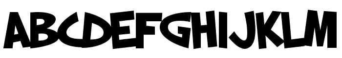 SF Slapstick Comic Bold Font UPPERCASE