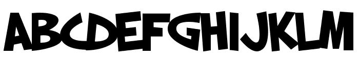 SF Slapstick Comic Bold Font LOWERCASE