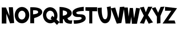 SF Slapstick Comic SC Bold Font UPPERCASE