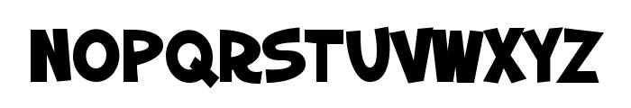 SF Slapstick Comic SC Bold Font LOWERCASE