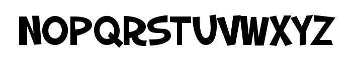 SF Slapstick Comic SC Font LOWERCASE