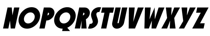 SF Speakeasy Oblique Font UPPERCASE