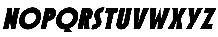 SF Speakeasy Oblique Font LOWERCASE