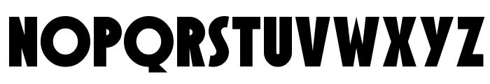SF Speakeasy Font UPPERCASE