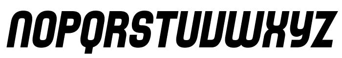 SF Speedwaystar Bold Italic Font UPPERCASE