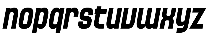 SF Speedwaystar Bold Italic Font LOWERCASE