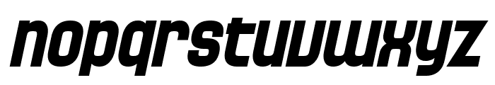 SF Speedwaystar Bold Oblique Font LOWERCASE