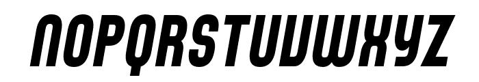 SF Speedwaystar Cond Italic Font UPPERCASE