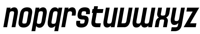 SF Speedwaystar Italic Font LOWERCASE