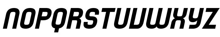 SF Speedwaystar Oblique Font UPPERCASE