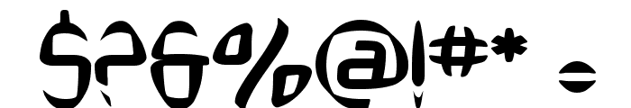 SF Synthonic Pop Font OTHER CHARS