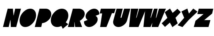 SF Tattle Tales Bold Italic Font UPPERCASE