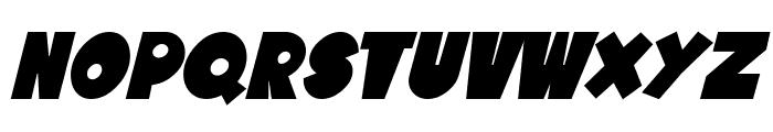 SF Tattle Tales Bold Italic Font LOWERCASE