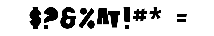 SF Tattle Tales Font OTHER CHARS