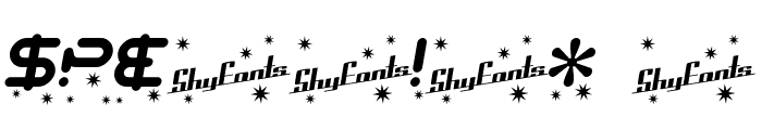 SF Technodelight Bold Italic Font OTHER CHARS