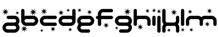 SF Technodelight Bold Font LOWERCASE