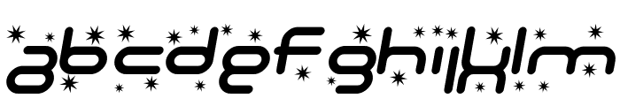 SF Technodelight Italic Font UPPERCASE