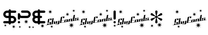SF Technodelight Font OTHER CHARS